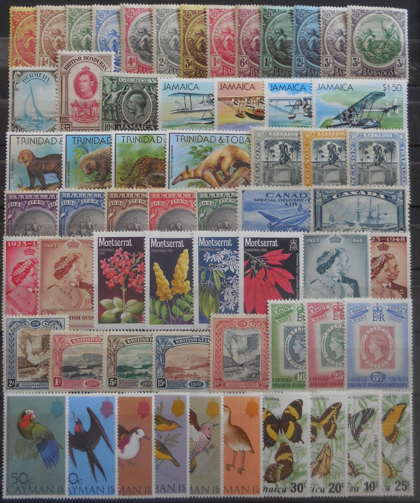British american stamps for collectors on approval