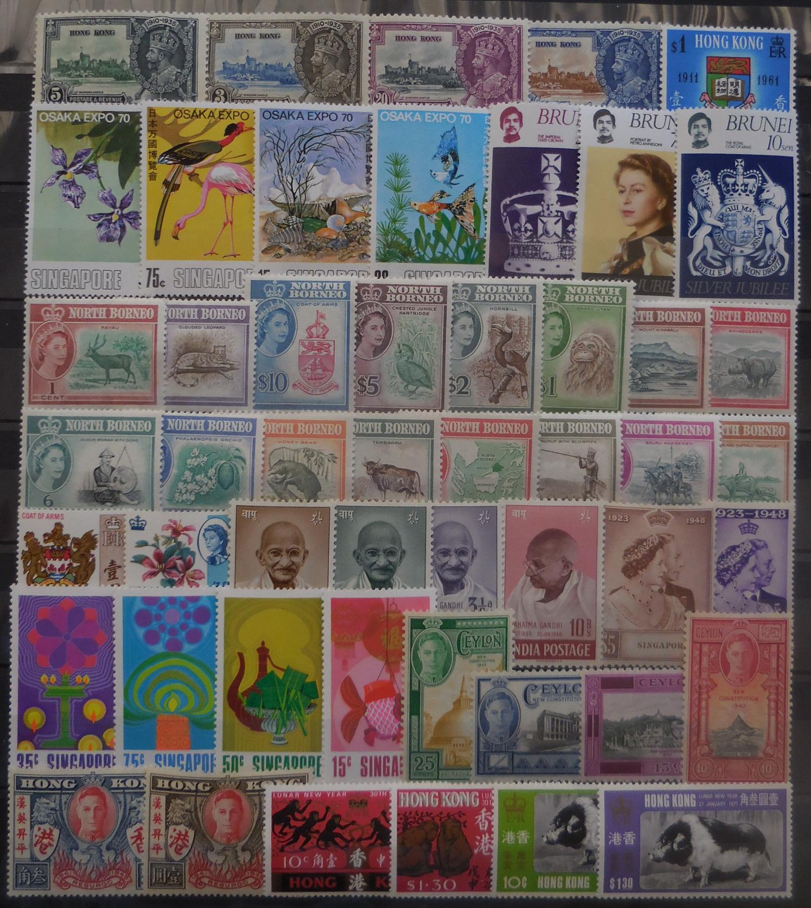 British asian stamps for collectors on approval
